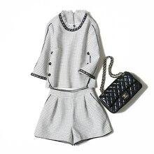Veydu, женские комплекты, с кисточками, о-образным вырезом, рукав три четверти, пэчворк, Короткие топы+ облегающие трапециевидные шорты, женские костюмы