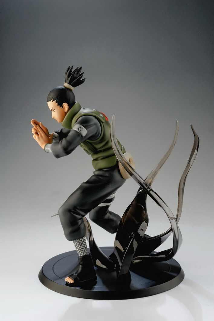 HKXZM Anime Naruto 15 CM Shippuden Nara Shikamaru pcv figurka – model kolekcjonerski zabawki prezent na Boże Narodzenie Brinquedos