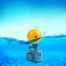 Para Gopro bóia flutuabilidade bola fotografia subaquática de mergulho multifuncional anti-sink para GOPRO Hero 5 4 3 Xiaomi Yi 4 k SJCAM