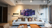 Home Decor Modular Canvas Picture 5 Piece ONE PUNCH-MAN Animation Art Painting Poster Wall For Home Canvas Painting Wholesale 2
