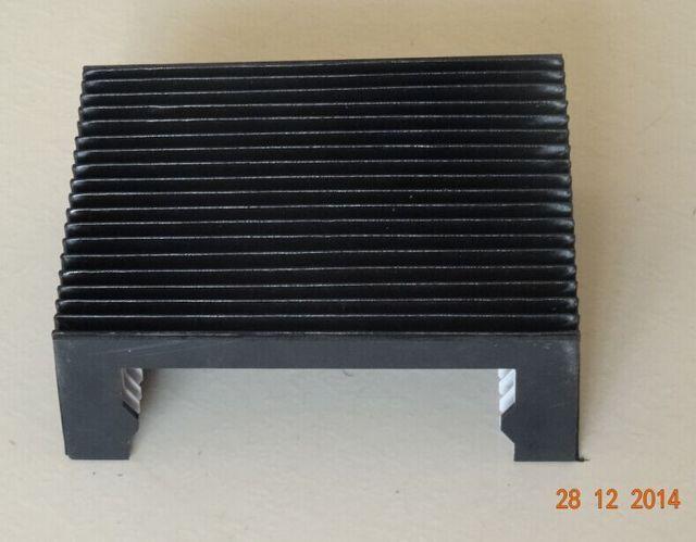 Akkordeon faltenbalg abdeckung für linearschiene ist hiwin hg20 Max = 180mm, breite = 210mm, höhe = 58,50mm