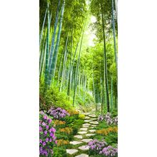 Bamboo Forest  5D Full Drill Diamond Painting Embroidery Cross Stitch Kit Rhinestone Home Decor Craft