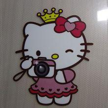 Детские нашивки hello kitty, термопереводные глажки, наклейки на футболки, платья, толстовки, а-уровень, моющиеся