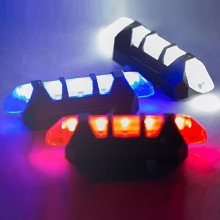 MUQGEW Outdoor New 5 LED Waterproof Bike Bicycle Cycle Rear Back Tail Light Lamp Taillight  Black Red Drop Shipping