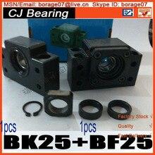 Презентация Линейный шариковый винт устанавливает BK25 BF25 швп установить BK/BF25 поддержка