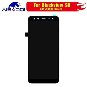 Image 3 - 100% Original Blackview S8 écran LCD + écran tactile assemblée pour Blackview S8 outils + 3M adhésif