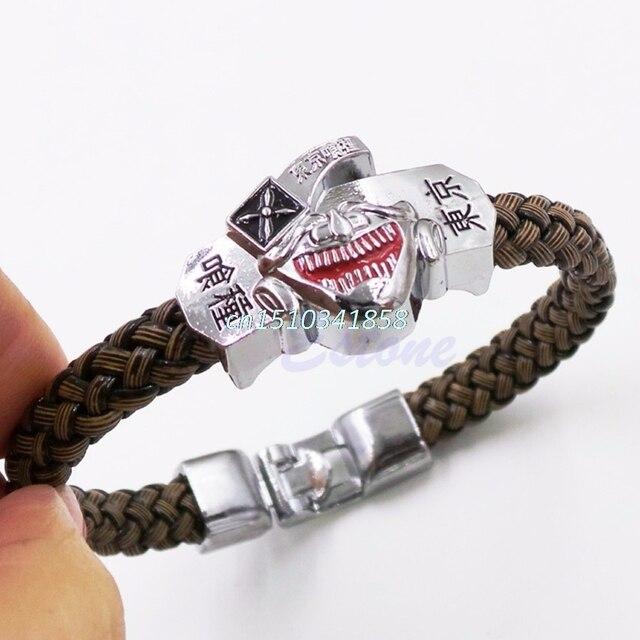 Tokyo Ghoul Kaneki Ken Bangle Weave Bracelet Wrist Band