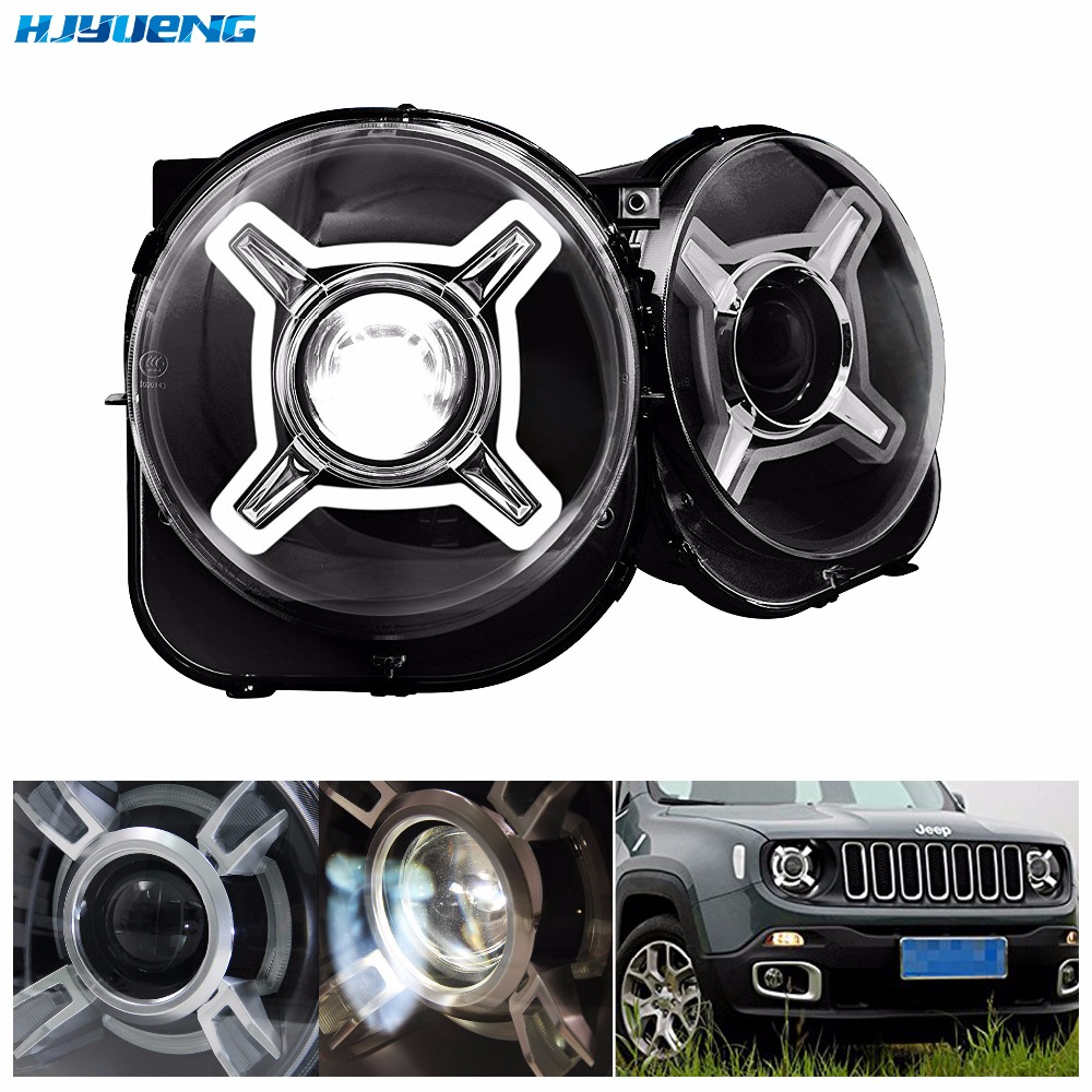 Led Lights Jeep Renegade: HJYUENG 55W 2014 2017 Year For Jeep Renegade LED