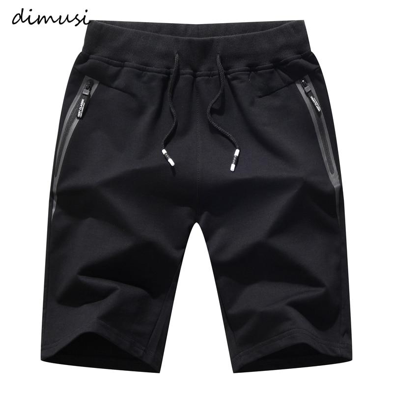 DIMUSI Mens Shorts Summer Casual Male Cotton Breathable Beach Shorts Mens Elastic Waist Jogger Shorts Brand Clothing 5XL,YA791