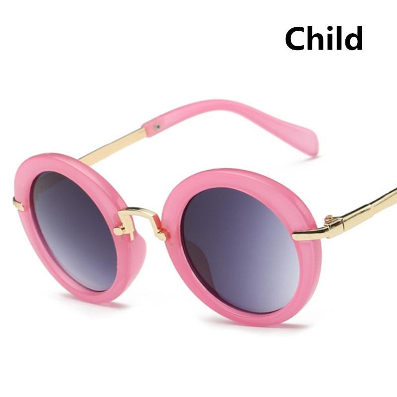 2019 Kids Solbriller Boys Kids Oculos Fashion Round Cute Brand - Beklædningstilbehør - Foto 3