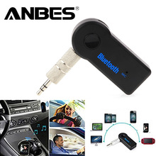 Handsfree Car Bluetooth Music Receiver Universal 3 5mm Streaming A2DP Wireless Auto AUX Audio Adapter With