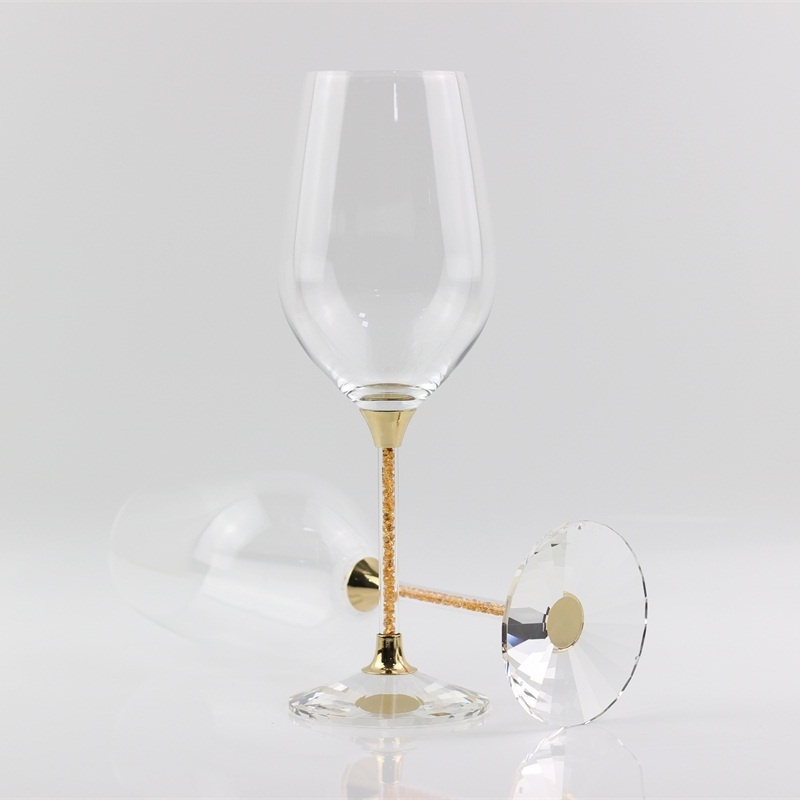 Toasting Gles Crystal Red Wine Gl Gifts Goblet Drinking Cup For Anniversary Celebration