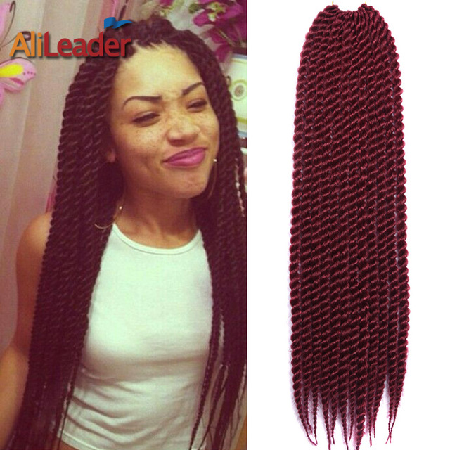 Crochet Braids Red Hair : Red Hair Extensions 85G/Pack 22 Inch Havana Mambo Twist Crochet Braids ...