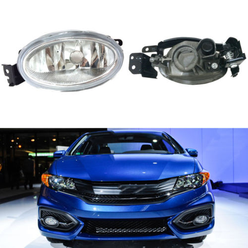 1Set Front Fog Bumper Lamp Light Wiring Assembly For Honda Civic 9 2014-2015