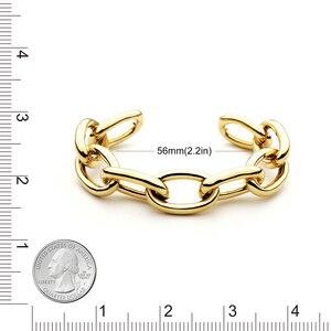 Image 4 - VAROLE سلسلة الإناث سوار الذهب اللون أساور للنساء مجوهرات هدايا Noeud شارة Pulseiras