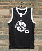 LIANZEXIN 23 Motaw Tournament Shoot Out Birdmen Basketball Jersey Mens Above The Rim Black Jerseys Double