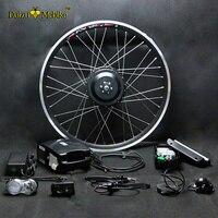250W 350W 500W High Quality Electric Bicycle Conversion Kit Ebike Rim Size 20 24 26 700C