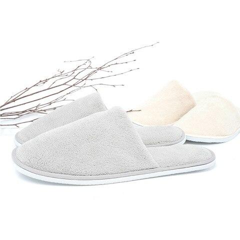 Pares de Chinelos Descartáveis para Homens Masculinos de Viagem de Negócios Sapatos de Passageiros Sapatos Casa Convidado Hotel Beauty Club Laváveis 10