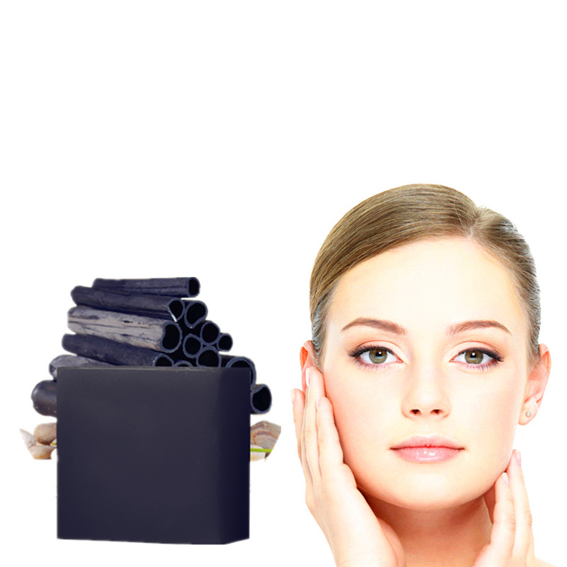 Soften Skin Handmade Soap Anti-aging Moisturizer Nourishing Delay Ageing Shrink Pores Rease Dirt Cleaning Bamboo Charcoal Soaps
