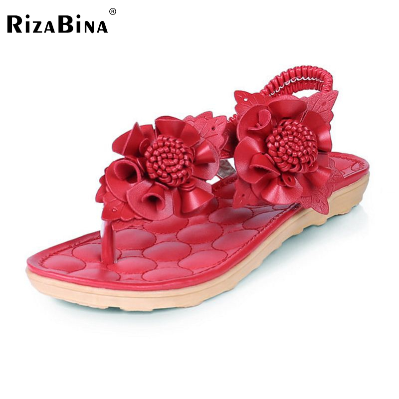 summer new arrived women flats sandals flip flower sample sweet slip on leisure shoes women solid - Free Sample Shoes