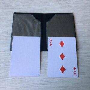 Оптический кошелек-карта, показ магических трюков, кошелек-карта, волшебная, легко складывается