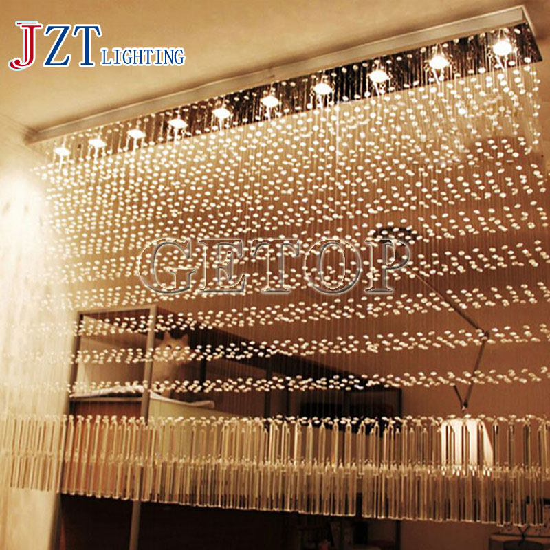 J Best Price Modern k9 crystal led lamp rectangle restaurant messenger wire lamp sitting room partition lamp led ceiling light j best price modern fashion crystal lamp rectangle restaurant ceiling lamp sitting room partition lamps led ceiling light