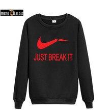 2016 зимние одежды уличной известный бренд просто разорвать его повседневная пуловер человек капюшоном толстовка спортивная moleton