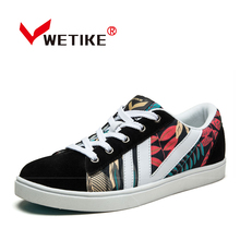 WETIKE 2017 Children's Skateboarding Shoes Outdoor Flat Shoes For Kids Boys Girls Leisure Colorful Shoes