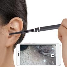 2-в-1 USB очистки уха эндоскопа HD Visual уха ложка многофункциональный Earpick с мини Камера уха здравоохранения инструмент для очистки