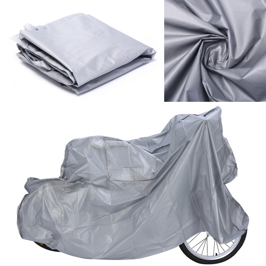 2019 New 100*200cm Bike Cycle Bicycle Waterproof Rain Snow Dust Weather Protector Cover Waterproof Protection Rain Dust Cover