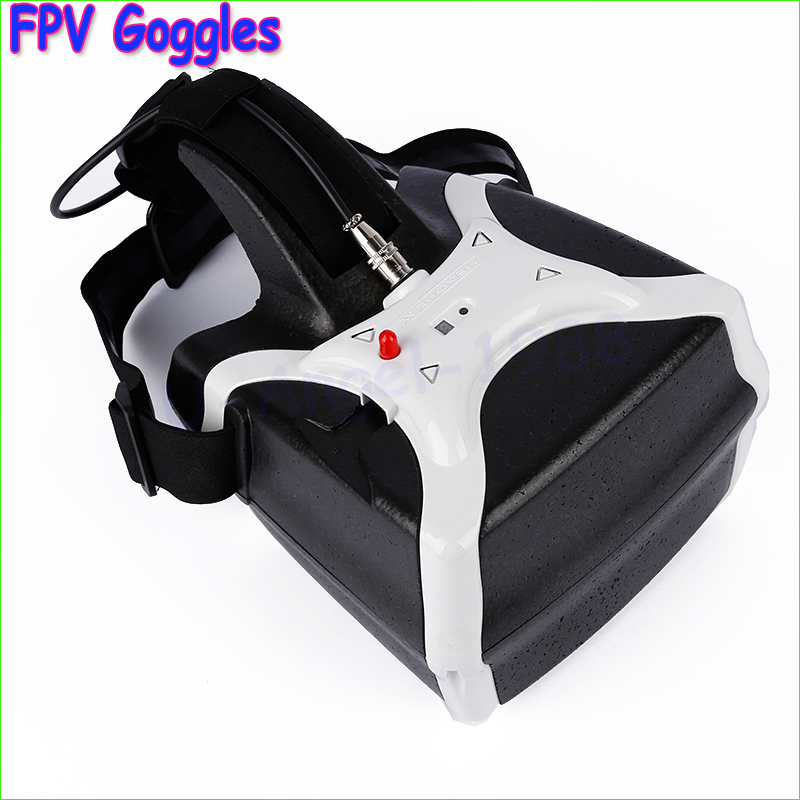 ФОТО 1pcs White HeadPlay HD 1280x800 FPV Goggles HD Headplay Glasses 32Ch 5.8GHz Headset Receiver for DJI