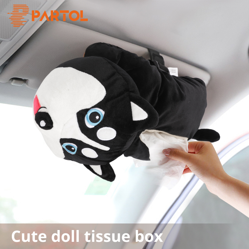 Partol Removable Car Tissue Box Car Sun Visor Tissue Paper Holder Cartoon Auto Seat Back Armrest Hanging Paper Napkin Container partol removable car tissue box car sun visor tissue paper holder cartoon auto seat back armrest hanging paper napkin container