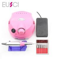 Nail Drill Electric Apparatus for Manicure Gel Cuticle Remover Milling Drill Bits Set 30000RPM Pedicure Polish Machine Nail Art