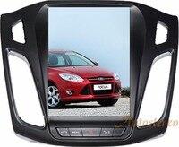 Android 6,0 Большой Экран Тесла стиль автомобиля dvd плеер gps навигации для Ford Focus 2012 2017 Авто navi Стерео головного устройства мультимедиа