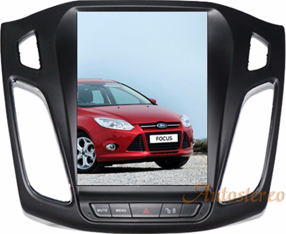 все цены на Android 6.0 Big Screen Tesla style Car DVD Player GPS Navigation For Ford Focus 2012-2017 Auto navi stereo headunit multimedia онлайн