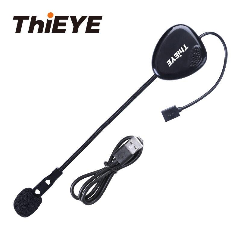 ThiEYE EarOn ONE Skiing Helmet Headset Motor Wireless Bluetooth Headphones For Most Motorcycle Snow Boarding Helmet Earphone