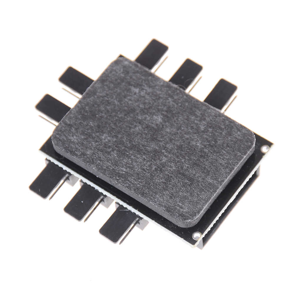 1 8 Way Splitter Cooler Cooling Fan Hub 3pin 12V Power Socket PCB Adapter 2ระดับควบคุมความเร็วPCคอมพิวเตอร์IDE Molex