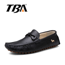 TBA Men's Knot Metal Styles Casual Flats Shoes Top Quality Soft Rubber New Style Spring And Autumn Confortable Traveling Shoes