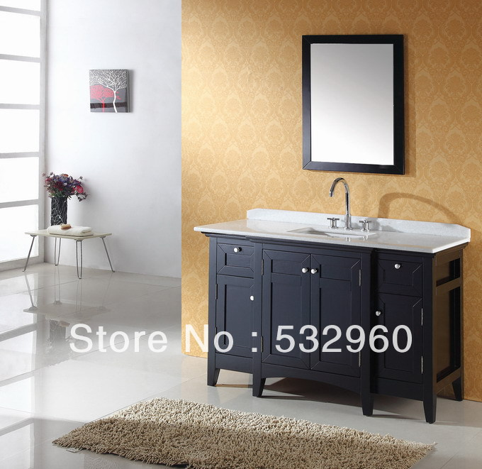 Aliexpress Com Buy Free Standing Transitional 18mm Thailand Oak Dual Sink Wooden Bathroom Furniture From Reliable Bathroom Sink Wall Mount Suppliers On