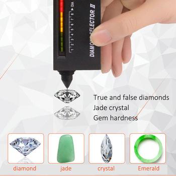 Drop Shipping przenośny diament selektor II biżuteria kamień Tester narzędzie kamień szlachetny detektor diament jest więcej przystanków tzn wyboru tanie i dobre opinie ABEDOE ANALOG Diamond Tester