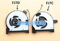 New Original Laptop/Notebook CPU/GPU Cooling Fan For Gigabyte Sabre 15 Sabre Pro15 DFS561405PL0T FJ7C DFS541105VC0T FJ7D