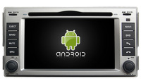 S160 Quad Core Android 4 4 4 Car Audio FOR HYUNDAI SANTA FE 2007 2011 Car