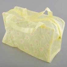 Waterproof Makeup Bag Portable Cosmetic Toiletry Women Bag Travel Wash Toothbrush Pouch Makeup Organizer M03226