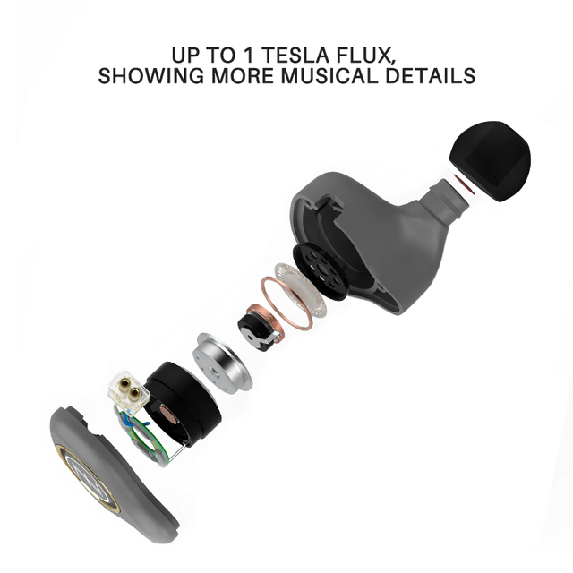 The Fragrant Zither/ KING PRO Neckband HIFI Monitor Earphones, TFZ In Ear sports Hifi Earbuds Bass Earphones Metal earphone 2