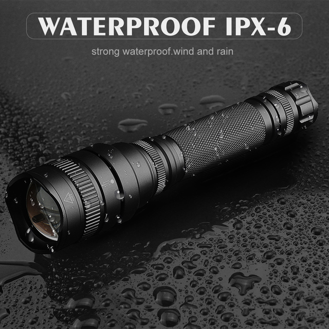 Best Camping Flashlight 60000 Lumens xhp70 xhp50 Ultra Bright Waterproof LED Torch 18650