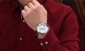 Image 5 - CURREN Luxury Male Clock Business Mens Quartz Wrist Watch Military Waterproof Watch Sport Relogio Masculino reloj hombre