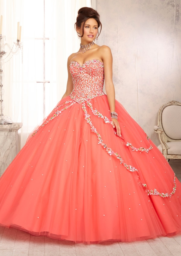 Online Get Cheap Coral Quinceanera Dresses -Aliexpress.com ...