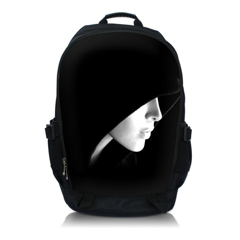Hoody Lady Nylon Men Women Backpack College High Middle School Bags For Teenager Boy Girls Laptop Travel Backpacks Mochila