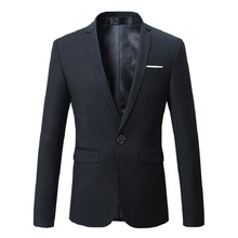 mens blazer jacket dress Male Classical Casual Slim Fit blazers High quality office party suit