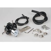 JDM Verstelbare FPR Brandstofdrukregelaar 0-140 PSI Gauge Gas Slang Kit